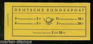 GERMANY-MICHEL-MH-2d-COMPLETE-UNEXPLODED-BOOKLET-MINT-NEVER-HINGED-AS-SHOWN