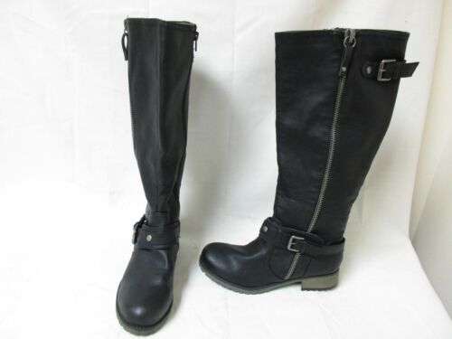 New Womens Bongo Dixie Knee High Riding Boot Style 20394 Med Wdth Black 119EF pr