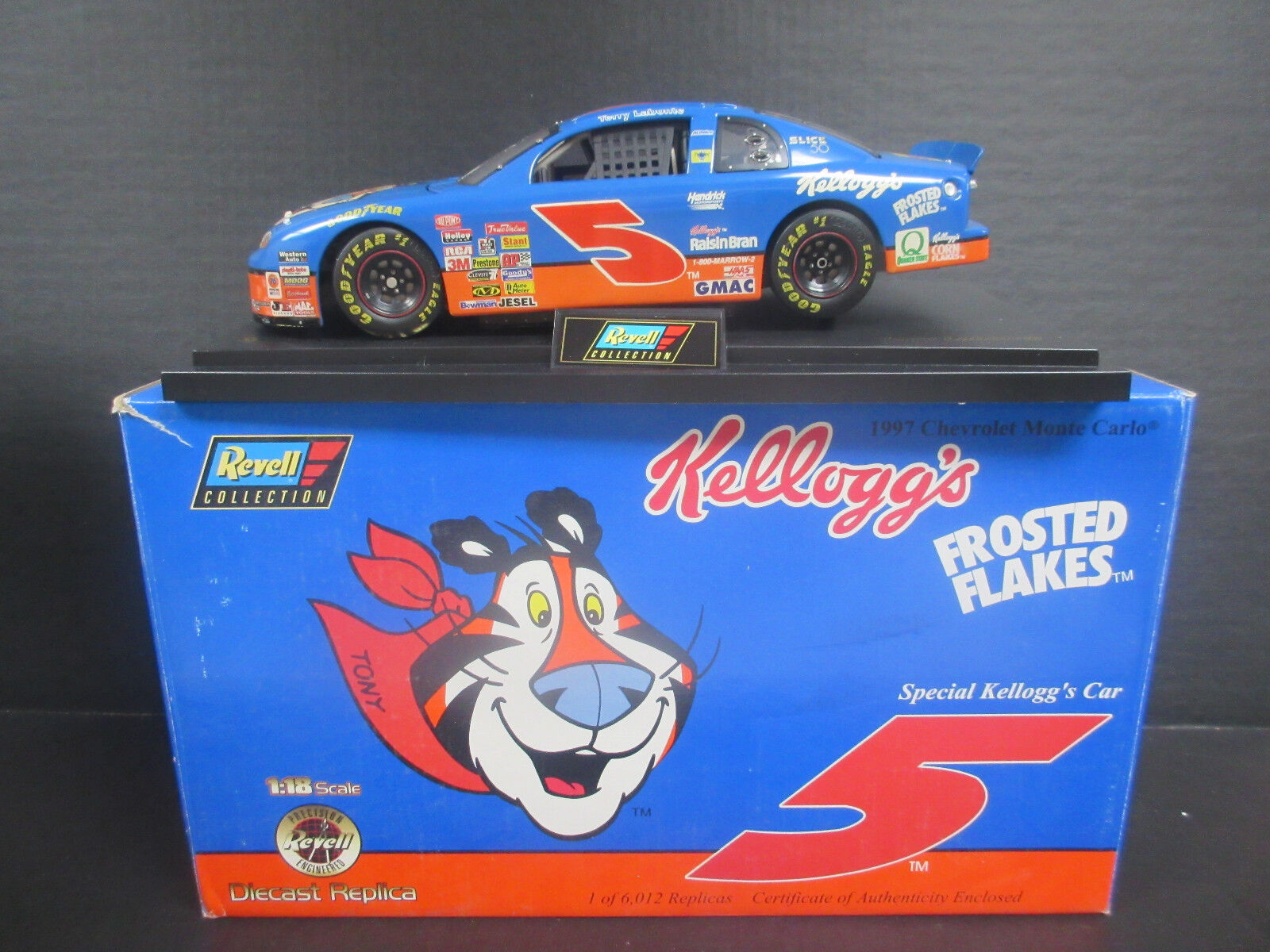 1997 Revell  5 Terry LaBonte-Kelloggs 1 18th Scale Nascar