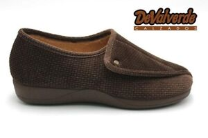 Ladies-Slipper-DeValverde-124-Marron-Brown