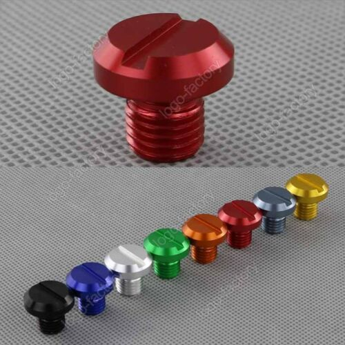 For Yamaha FZ16 FZ8 MT-01 MT-07 Tracer MT-09 Tracer MT15 Red Mirror Hole Plug