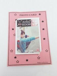 Jung Kook detrás de la escena Foto signo tarjeta 10 piezas Kpop Jin Jimin V Bangtan Boys ejército de mercancías