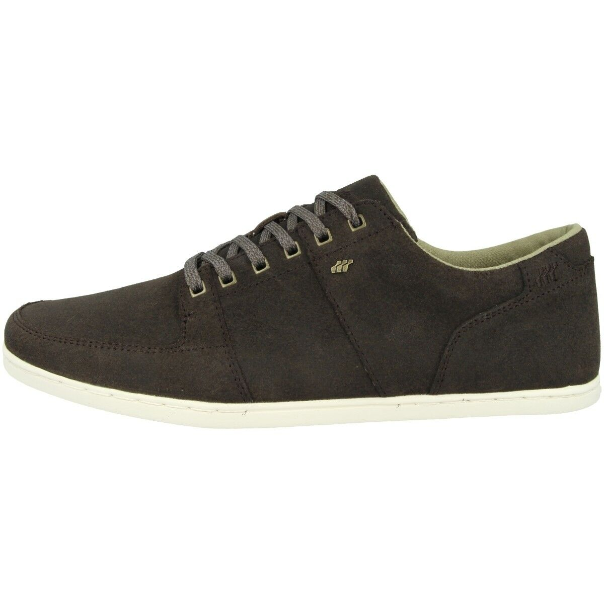 Boxfresh Spencer SH Waxed Suede Men Chaussures Hommes Loisirs baskets kaki e15364