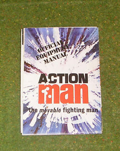 VINTAGE ACTION MAN 40th OFFICIAL EQUIPMENT MANUAL LIGHT BLUE COVER