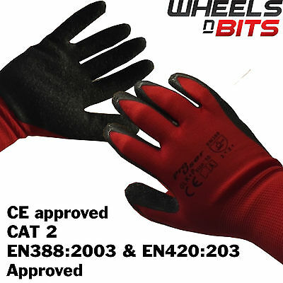 36 PAIRS PU SNUG FIT COATED WORK GLOVES Fitters Mechanic Handyman NEW 12 24
