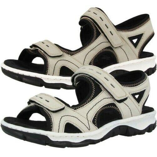 Rieker shoes Women Ladies Outdoor Sandal Anti-stress Leisure Ankle-Strap 68866