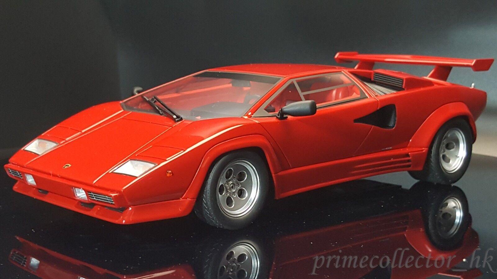 Kyosho 1 18 Lamborghini Countach 5000 Quattrovalvole Rojo KSR18504R