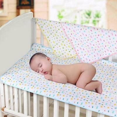 Waterproof Changing Diaper Pad Washable Baby Infant Urine Mat Nappy Bed LC