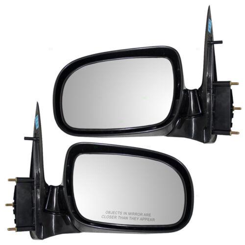 Manual Door Mirror Pair Set For 1997-2005 Venture Silhouette 10349531 10349530