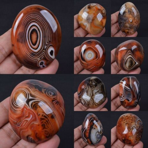 Dream agate worry tumbled stone display slab specimen crafts *each one picture*