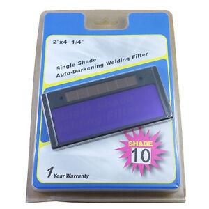 """4-1//4/"""" x 2/"""" Auto Darkening Welding Lens Filter 3//10"""