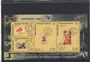 Terre Australi E Antartiche Francesi T.a.a.f. Mnh** 1999 Philexfrance