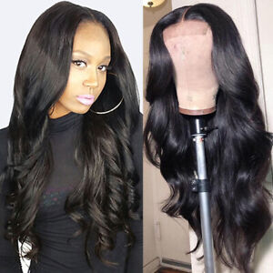 Deluxe-Body-Wave-Lace-Front-Wigs-100-Remy-Indian-Human-Hair-Wig-Pre-Plucked-g4b