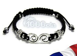 Inventive Bracelet Homme/femme Style Shamballa Perles En Métal+hematite+fil Nylon Noir N1 Bracing Up The Whole System And Strengthening It Crafts Jewelry & Watches