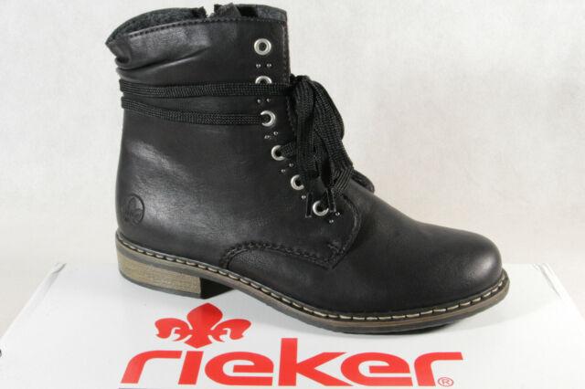 Rieker Damen Stiefeletten 71218 00 schwarz 746396 | eBay