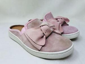 77f93e9b82d Details about UGG Women's Luci Bow Slip-On Sneaker Mule in Seashell Pink  Suede Size 7.5