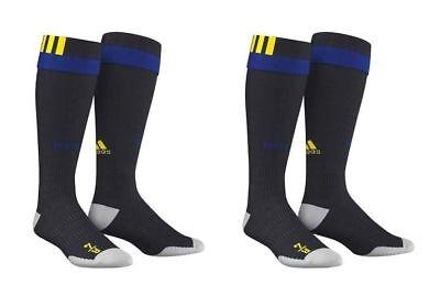 Amichevole Pacco 2er Adidas 3-stripe 3 Strisce Da Uomo Taglio Calza Adisock Calcio-