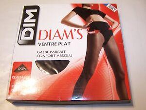 100% qualité garantie 100% authentique mode designer Détails sur DIM-DIAM'S-Collant ventre plat - 25D NOIR - T2