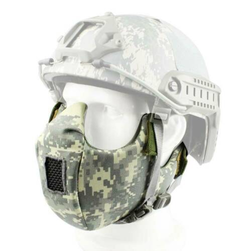 Half Face Protective Mask For Tactical CS Military Game Paintball Steel Neting