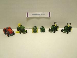 Kubota-JD-455-Lawn-Tractor-JD-430-Crawler-JD-6400-Tractors-1-64-Scale-Lot-30