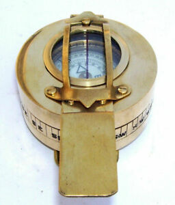 MILITARY-COMPASS-ENGINEERING-COMPASS-PRISMATIC-COMPASS-BRASS-VINTAGE-COMPASS