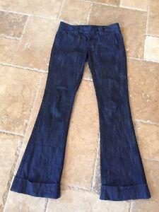 28 a Gambe con scuro True Gamba Vita Religion larghe posteriore Jeans vita risvolto bassa tasca bassa denim EWEaTq1z