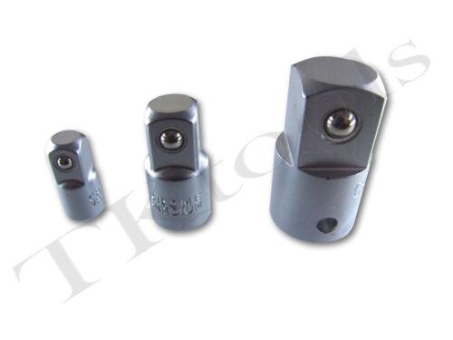 6 Piece Chrome Vanadium Socket Adaptor Set