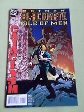 BATMAN   BLACKGATE ISLE OF MEN  - APRIL 1998 - DC COMIC-USA  - #1   - VG