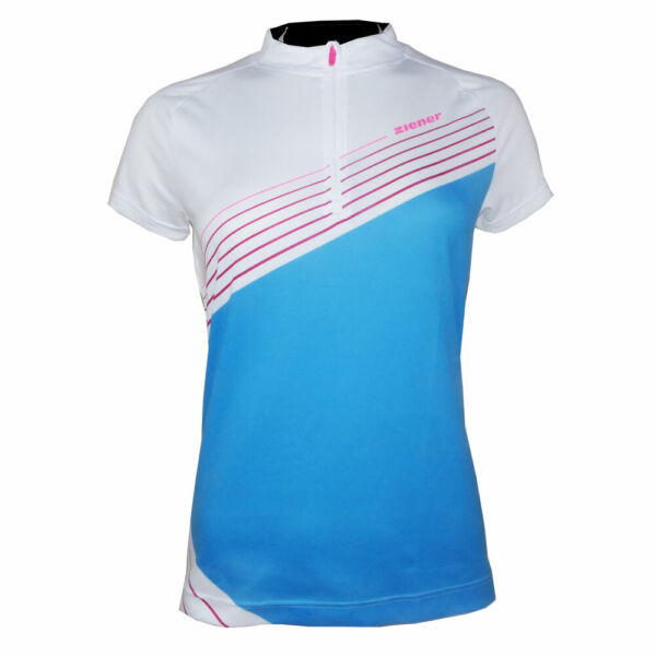 ZIENER CENIA LADY Damen Fahrradtrikot Radtrikot Bike Shirt mit RV M149121