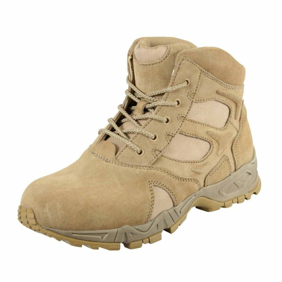 redhco 6 Inch Forced Entry Deployment Boot -Desert Tan - 5368