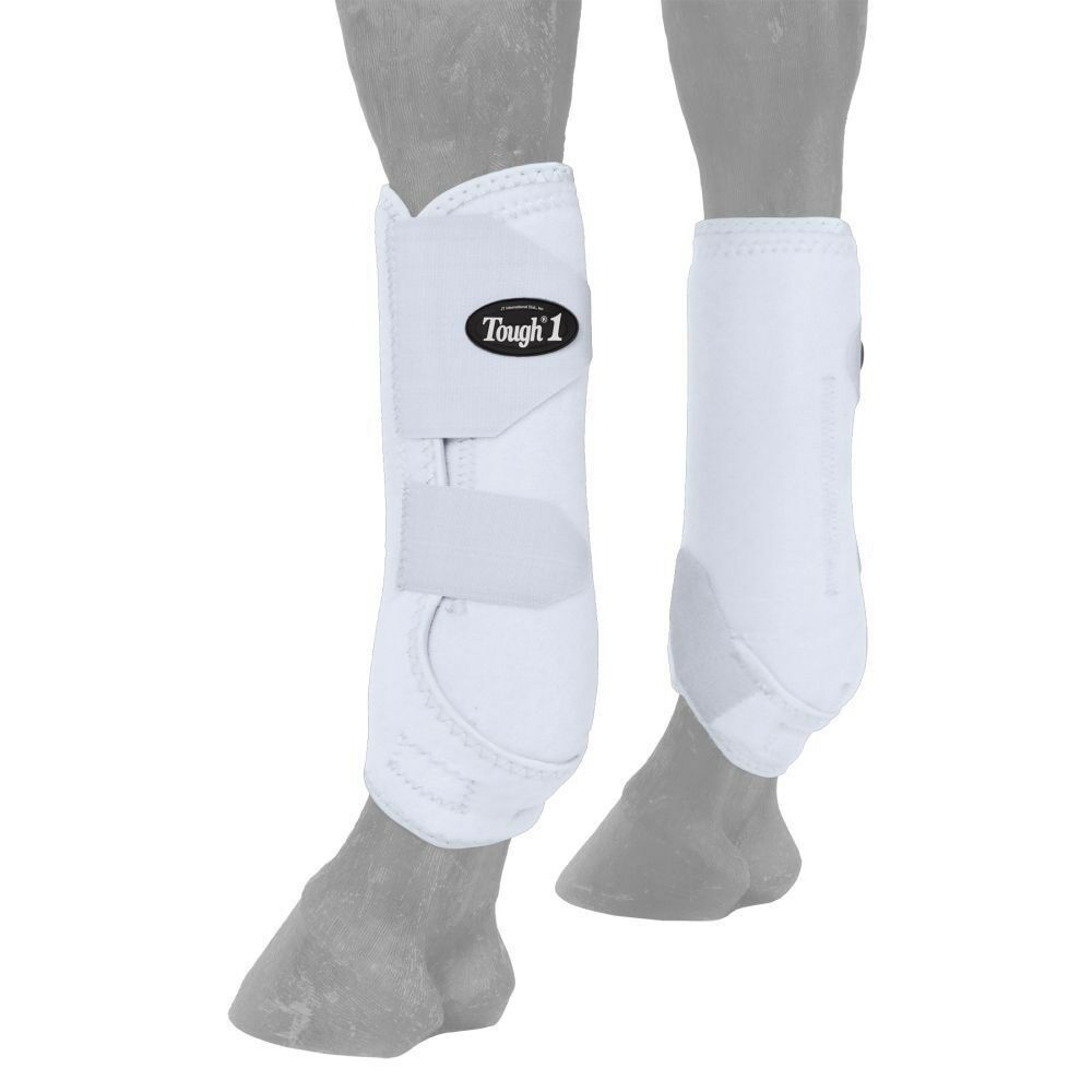 Tough-1 Extreme Vented Sport Boots with Suspensory Tendon Sling - Rear
