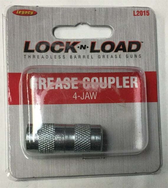 High Pressure 4-Jaw Coupler