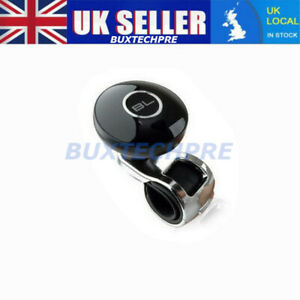 Color : Black Car Steering Wheel Spinner Universal Vehicle Steering Spinner Knob Wheel Aid Truck Hand Control Booster Ball