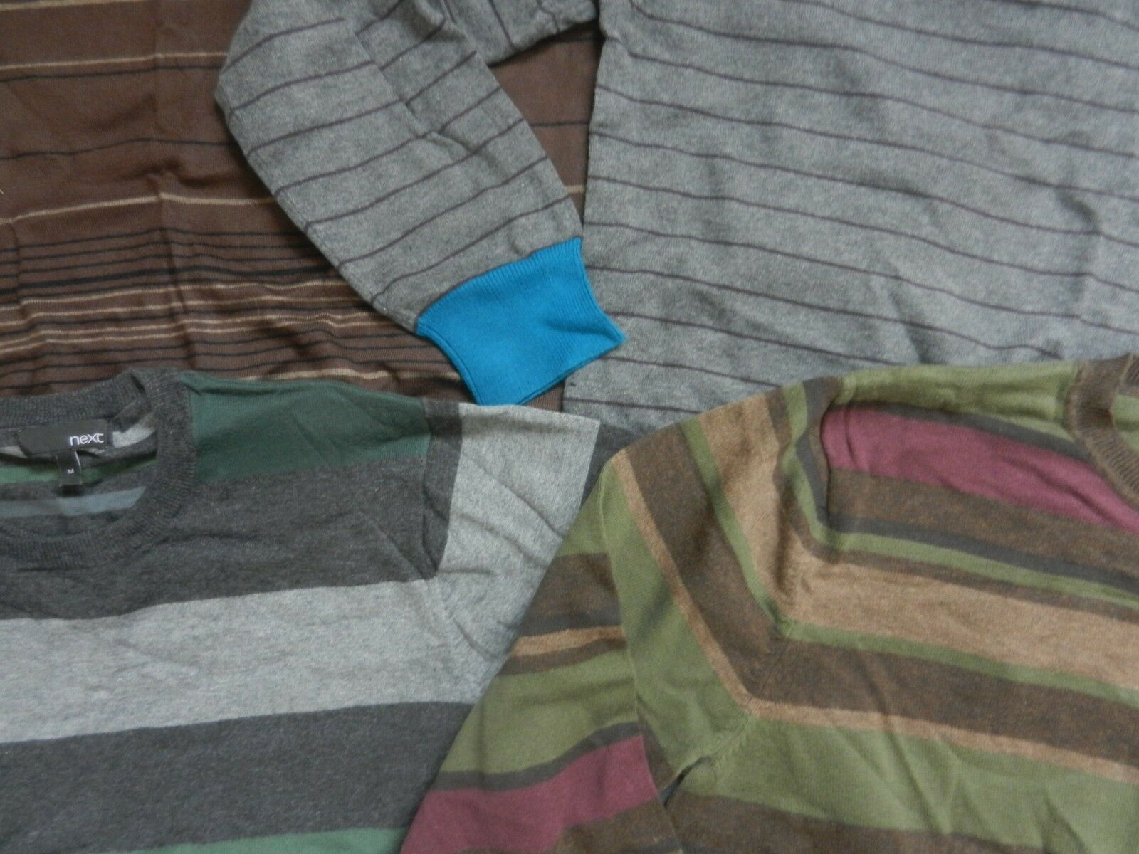 4 NEXT Media uomo in maglia sottile i i i ponticelli luce usato & non indossato ottime condizioni 4ff816