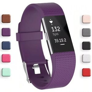 For-FitBit-Charge-2-Replacement-Strap-Sports-Soft-Bracelet-Watch-Wristband-Band