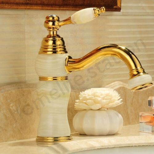 Salle de bains Antique Laiton Robinet de lavabo Mélangeur de bassin Robinetterie