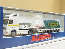 Albedo 320065 Volvo Tieflader Schenker International mit Planenlad. OVP (L9950)