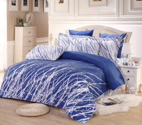 twin//full//queen//king trees 100/% cotton bedding set duvet cover /& pillow shams