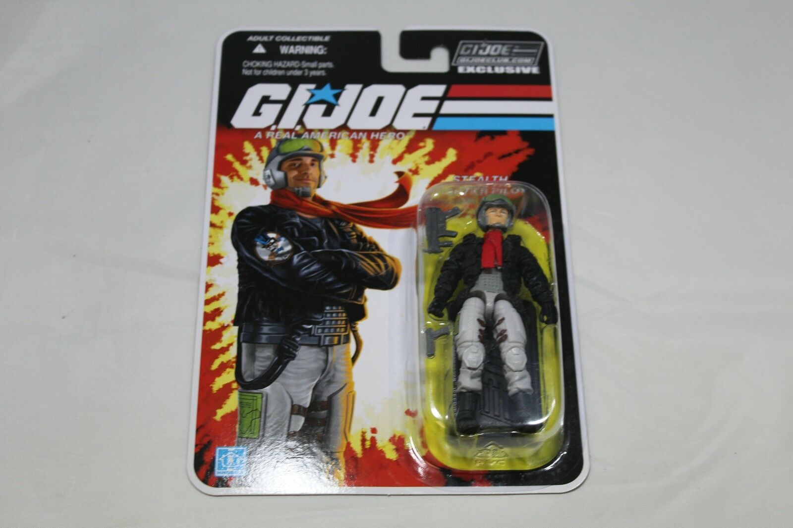 Stealth Fighter Pilot - Ghost Rider - G.I Joe - GIJOECLUB Exclusive -FSS