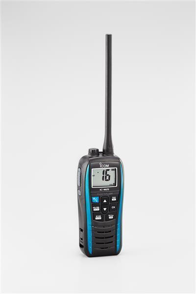 ICOM UKW-Handseefunkgerät IC-M25 blau mit Freischaltung Freischaltung mit ATIS und Hollandkanäle 0e1141