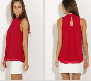 Fashion-Women-Summer-Vest-Top-Sleeveless-Chiffon-Blouse-Casual-Tank-Tops-T-Shirt