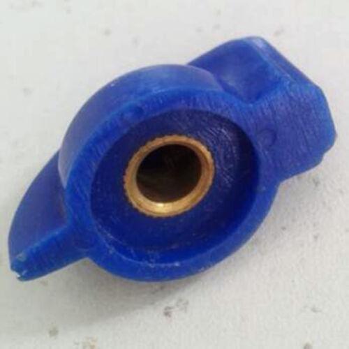 "Lot-10 AMPLIFIER,BASS BLUE CHICKEN HEAD CHICKENHEAD KNOB for 1//4/"" Rotary Shaft"