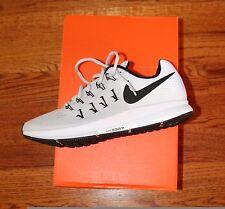 NIB Mens Nike Air Zoom Pegasus 33 Running Shoes Trainers Pure Platinum  / Black