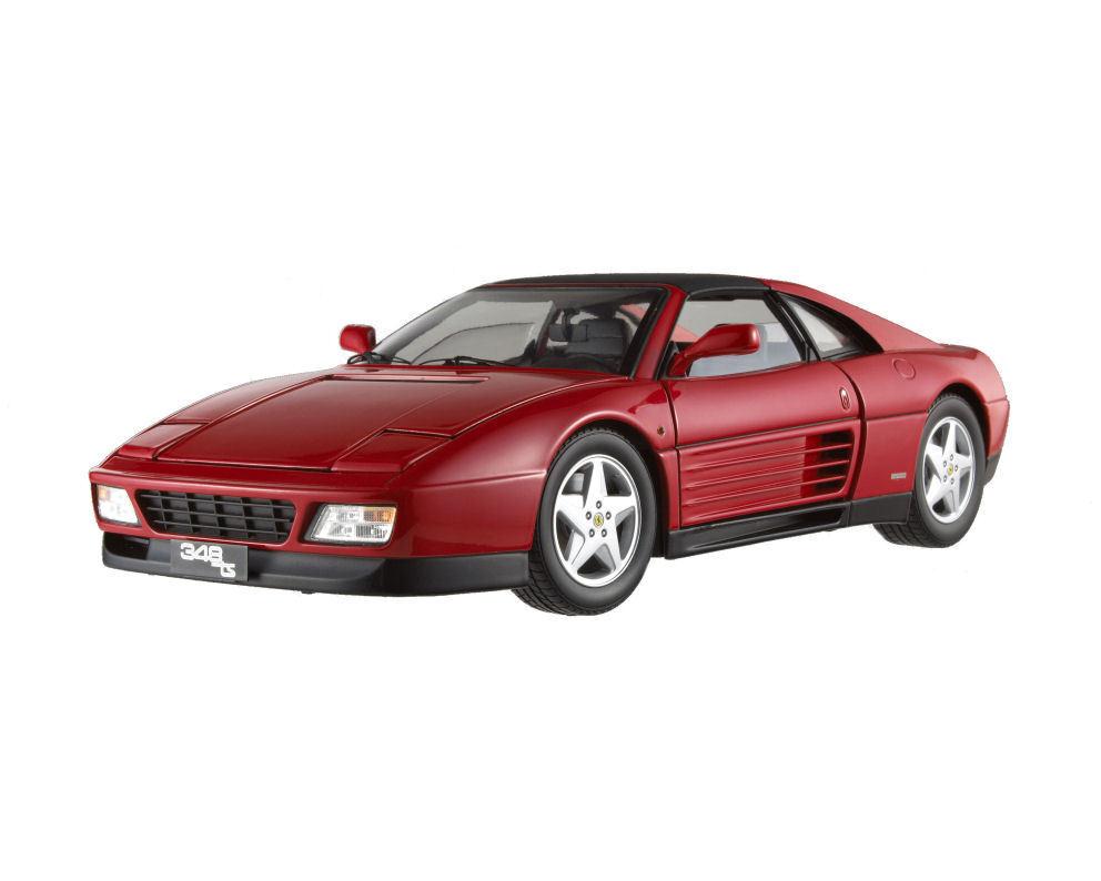 1 18 Hot Wheels ELITE Ferrari 348 ts RED Diecast