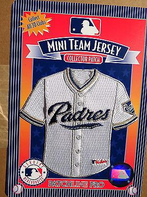 2019 Neuer Stil Mlb San Diego Padres Heim Mini-jersey 10.2cm Patch Von 2006 SpäTester Style-Online-Verkauf Von 2019 50% Sport