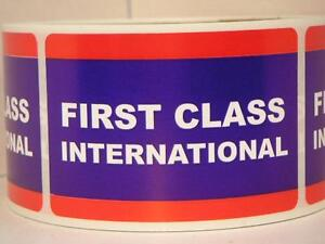 Image is loading FIRST-CLASS-INTERNATIONAL-USPS-50-cut-fold-2x3-