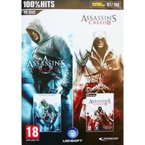 Assassins Creed And Assassins Creed Ii 2 Double Pack Game Pc Brand