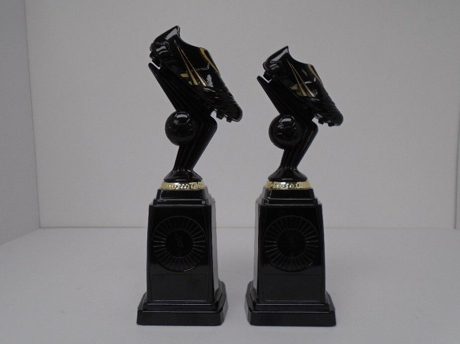 12 x 280mm Squad Football trophies engraved and postage free