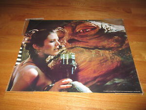 Original 1983 STAR WARS Carrie Fisher (PRINCESS LEIA ... Jabba The Hutt And Leia