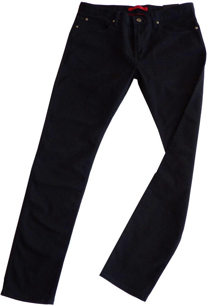 HUGO BOSS Stretch-Jeans W32 L34 HUGO734 50333882 SKINNY FIT schwarz